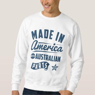 Sueter Feito em América com peças australianas