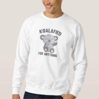 Sueter Koalafied para qualquer coisa