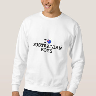 Sueter Mim meninos do australiano do coração