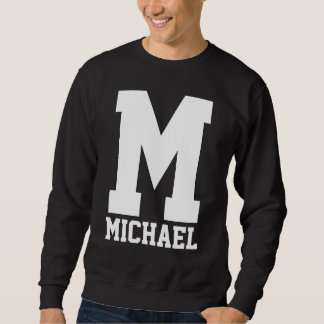 Suéter Monograma do Letterman do time do colégio