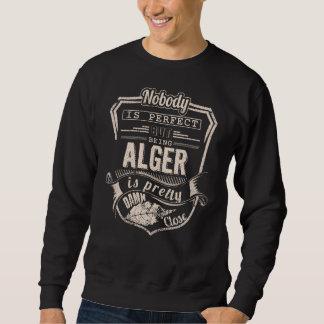 Suéter Ser ALGER é bonito. Aniversário do presente