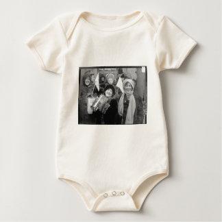Suffragists Sanderman cor-de-rosa e Elizabeth Macacãozinho Para Bebês