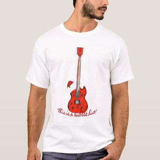 Sugestão subtil da guitarra do Natal para uma;) Camiseta