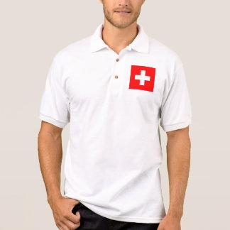 suiça camisa polo