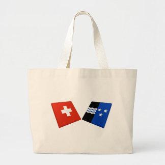 Suiça e bandeiras de Aargau Bolsa Para Compra