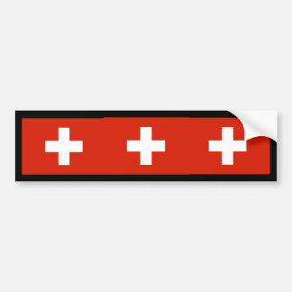 Suiça, suiça adesivo para carro