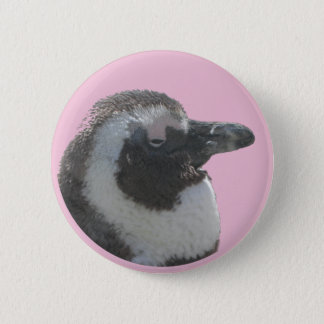 Sul - botão customizável do pinguim africano bóton redondo 5.08cm