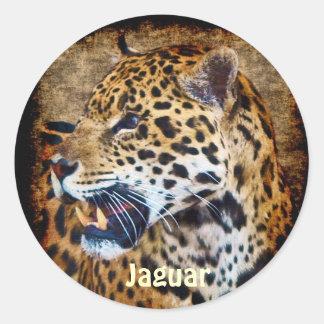Sul - etiquetas dos animais selvagens do gato