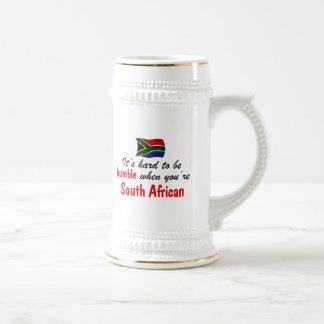 Sul humilde - africano caneca de cerveja