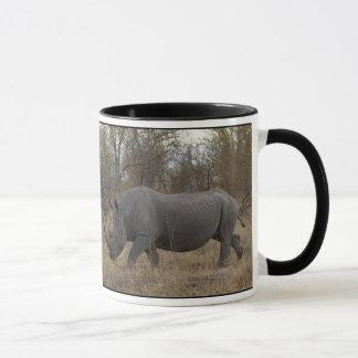 Sul - rinoceronte africano caneca