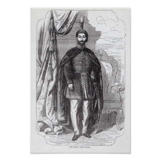 Sultão Abdul Medjid Poster