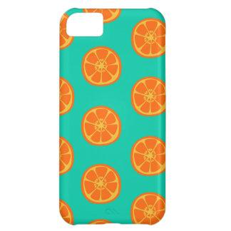 Sumo de laranja na cerceta capa para iPhone 5C