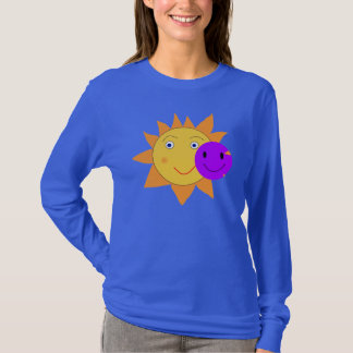 Sun e smiley t-shirts