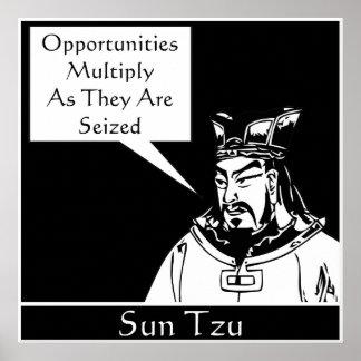 Sun Tzu -- Estratega militar chinesa Poster