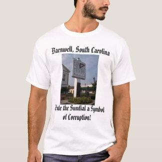sundial [2], Barnwell, South Carolina - Camiseta