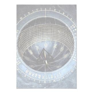 Sundial, palácio de Kyongbok Convite 12.7 X 17.78cm