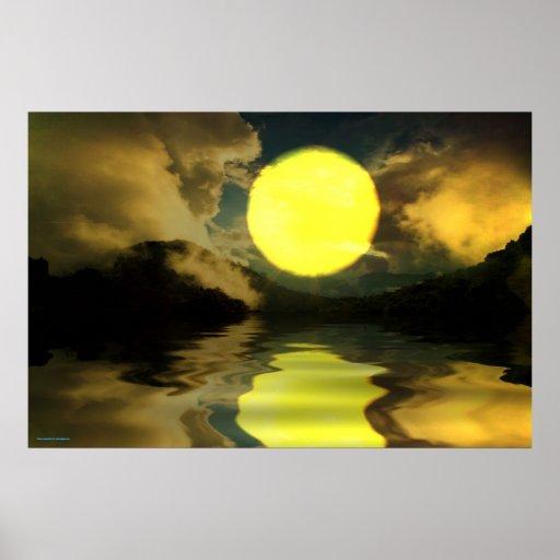 Sunset-landscape-Ver.12 Posteres