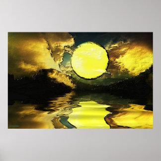 Sunset-landscape-Ver.13 Posters