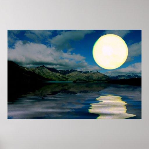 Sunset-landscape-Ver.1 Posters