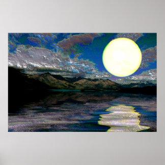 Sunset-landscape-Ver.2 Poster