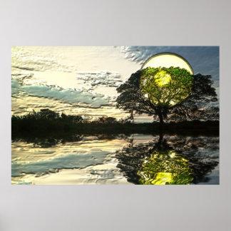 Sunset-landscape-Ver.3 Poster