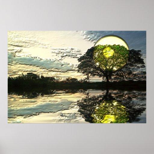 Sunset-landscape-Ver.3 Posters