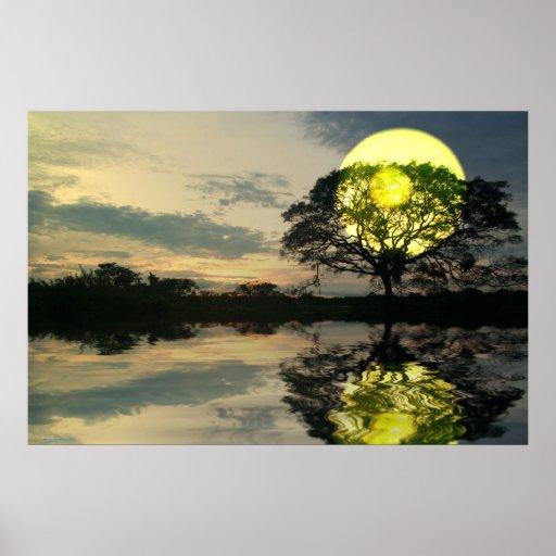 Sunset-landscape-Ver.4 Posteres