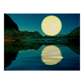 Sunset-landscape-Ver.5 Posters