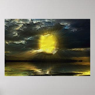 Sunset-landscape-Ver.9 Posters