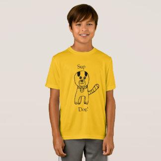 Sup, cão? Criação surpreendente do cão por Claire Camiseta