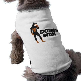 Super-herói 2 do DoberMan Camisa Sem Mangas Para Cachorro