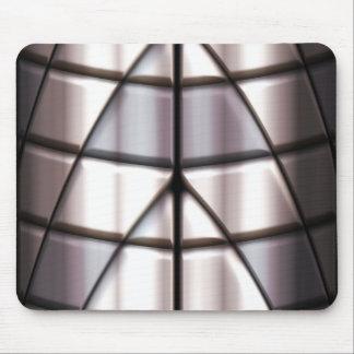 Super-herói - prata mouse pad