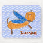 Superdog! Tapete do rato (de Maggie) Mousepads