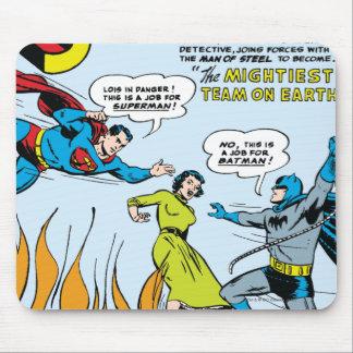 Superman (dupla característica com Batman) Mouse Pad
