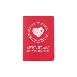 Suporte do passaporte de GWT (vermelho) Capa Para Passaporte