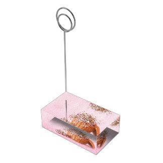 Suporte Para Cartões De Mesa Titular do cartão da mesa da cesta da flor do