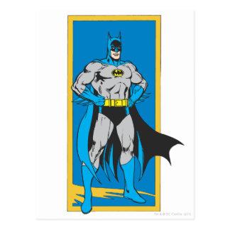 Suportes 2 de Batman Cartão Postal