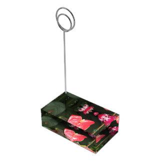 Suportes Para Cartão De Mesa Flores das orquídeas