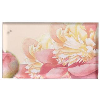 Suportes Para Cartões De Mesas casamento cor-de-rosa do primavera do candelabro