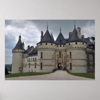 Sur Loire de Chaumont do castelo Poster