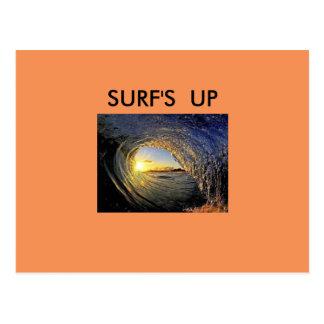 Surf acima do cartão