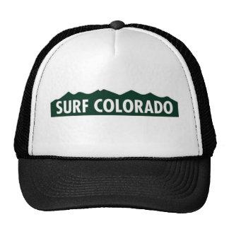 """""""surf Colorado"""" COLORADO ENGRAÇADO que SURFA Boné"""
