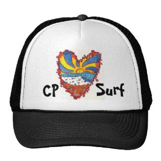 Surf do PC, chapéu do coração Boné