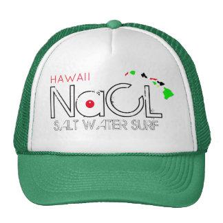 SURF HAVAÍ da ÁGUA SALGADA do NaCL Boné