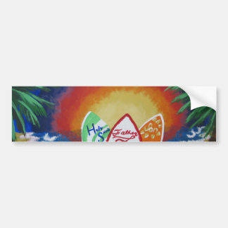 Surfar com o senhor adesivo para carro