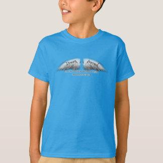 Surreal ideal - asas brancas do anjo t-shirt