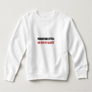 Survivalist do estilo da parentalidade tshirt