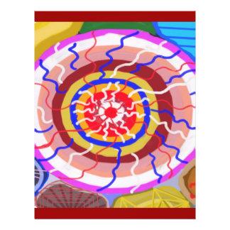 Surya Chakra - energia da fonte de Sun Flyer 21.59 X 27.94cm