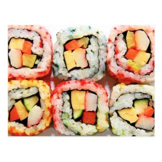 Sushi Cartão Postal