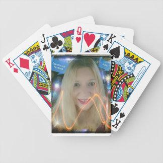 Susie de iluminação infame carta de baralho